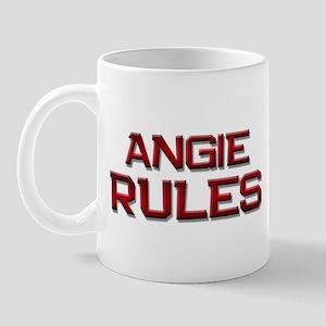 angie rules Mug