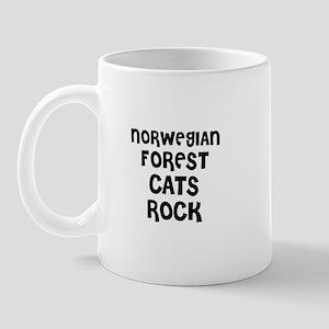 NORWEGIAN FOREST CATS ROCK Mug