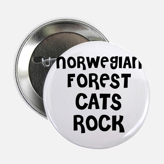 NORWEGIAN FOREST CATS ROCK Button
