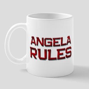angela rules Mug