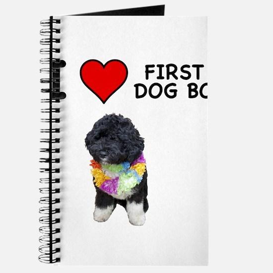I Love First Dog Bo Journal