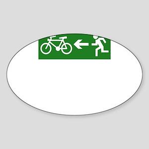 Cycling Escape Sticker