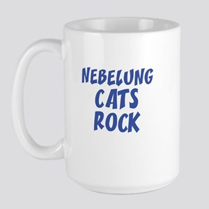 NEBELUNG CATS ROCK Large Mug