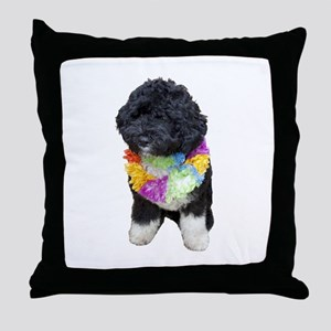 First Dog Bo Throw Pillow