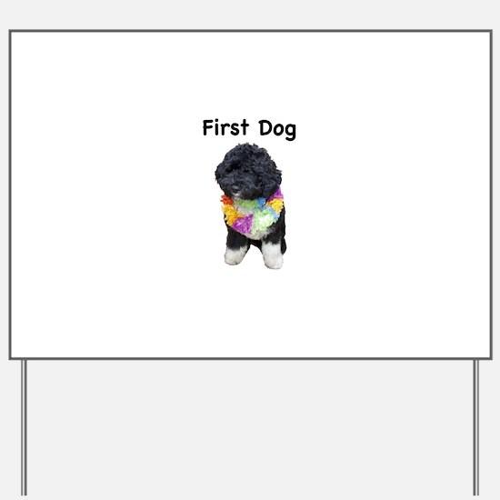 First Dog Bo Yard Sign
