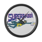 SUPERRABBI (SUPER RABBI) Large Wall Clock
