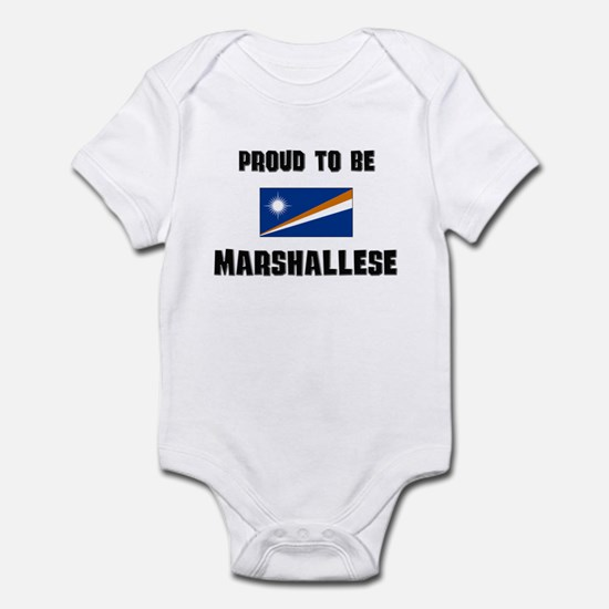 Proud To Be MARSHALLESE Infant Bodysuit