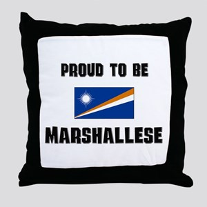 Proud To Be MARSHALLESE Throw Pillow