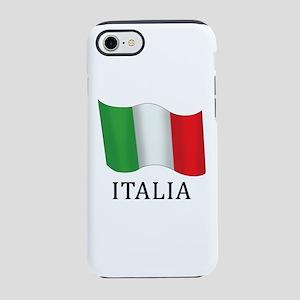 Italia Flag iPhone 7 Tough Case
