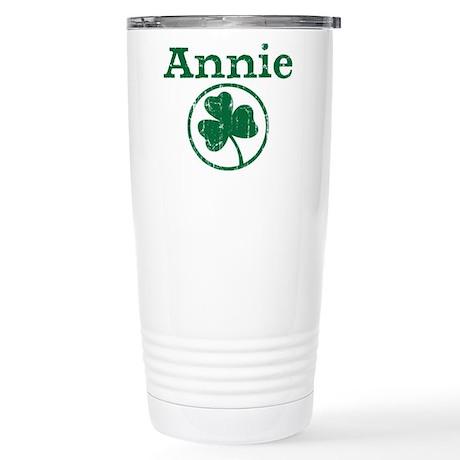 Annie shamrock Stainless Steel Travel Mug