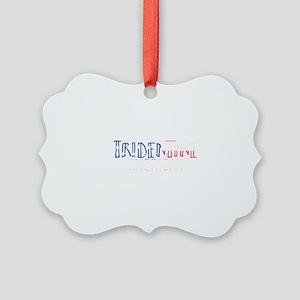 Tridentine American Picture Ornament