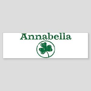 Annabella shamrock Bumper Sticker