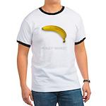 Ad-Free Fully Erect Banana Ringer T