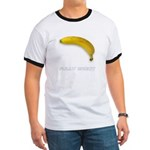 Ad-Free Fully Erect Banana Ringer T