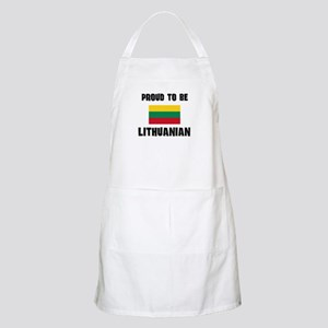 Proud To Be LITHUANIAN BBQ Apron