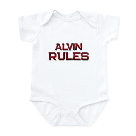 alvin rules Infant Bodysuit