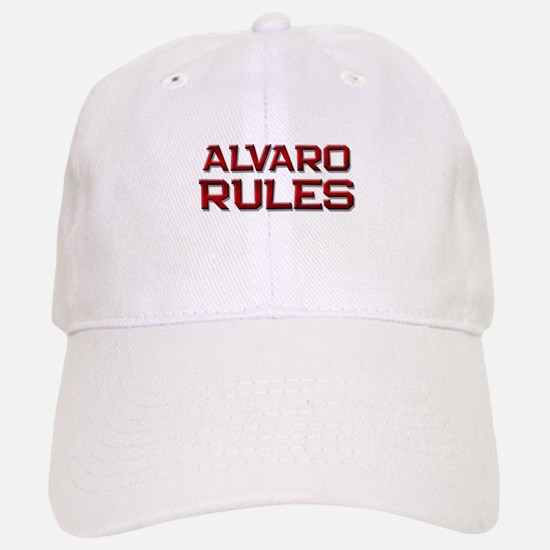 alvaro rules Baseball Baseball Cap