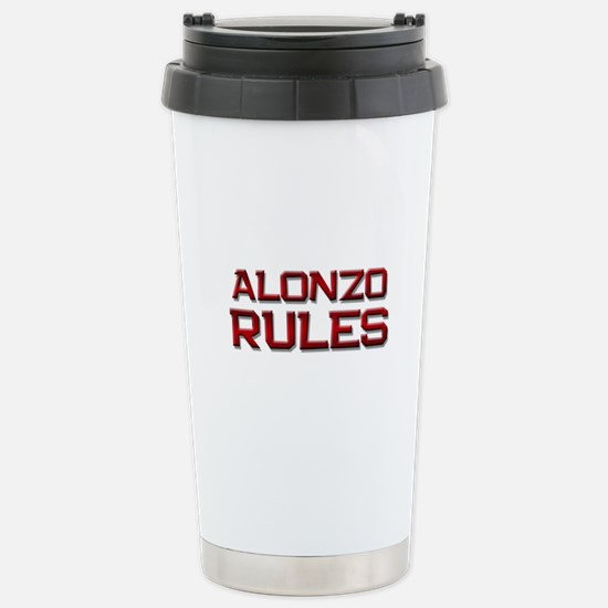 alonzo rules Stainless Steel Travel Mug