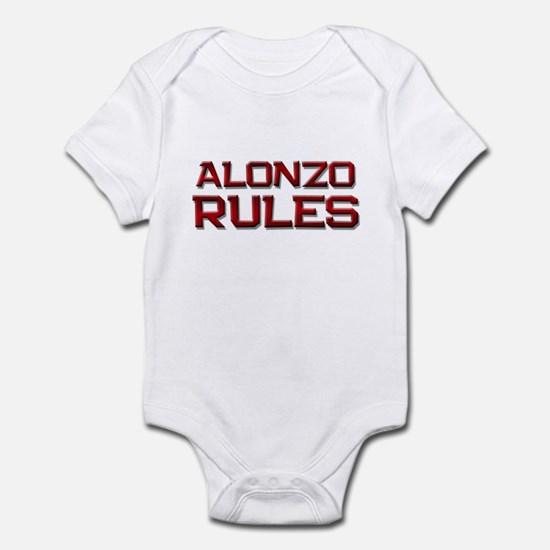 alonzo rules Infant Bodysuit
