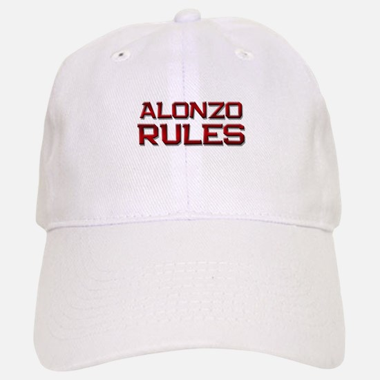 alonzo rules Baseball Baseball Cap