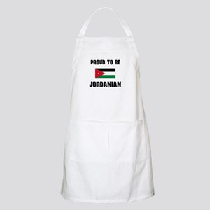 Proud To Be JORDANIAN BBQ Apron