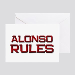 alonso rules Greeting Card