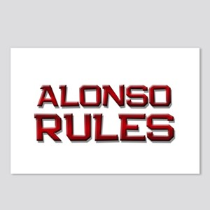 alonso rules Postcards (Package of 8)