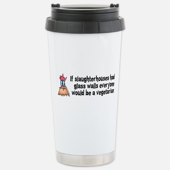 Slaughterhouses Stainless Steel Travel Mug