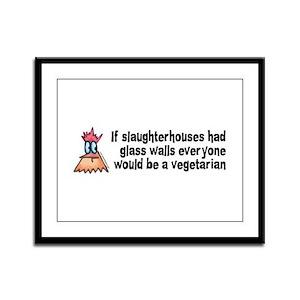 Slaughterhouses Framed Panel Print