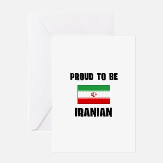Proud To Be IRANIAN Greeting Card