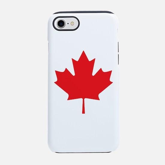 Canadian Maple Leaf iPhone 7 Tough Case