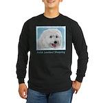 Polish Lowland Sheepdog Long Sleeve Dark T-Shirt