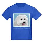 Polish Lowland Sheepdog Kids Dark T-Shirt