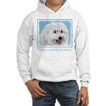 Polish Lowland Sheepdog Hooded Sweatshirt