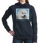 Polish Lowland Sheepdog Women's Hooded Sweatshirt