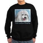 Polish Lowland Sheepdog Sweatshirt (dark)