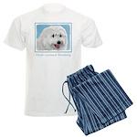Polish Lowland Sheepdog Men's Light Pajamas
