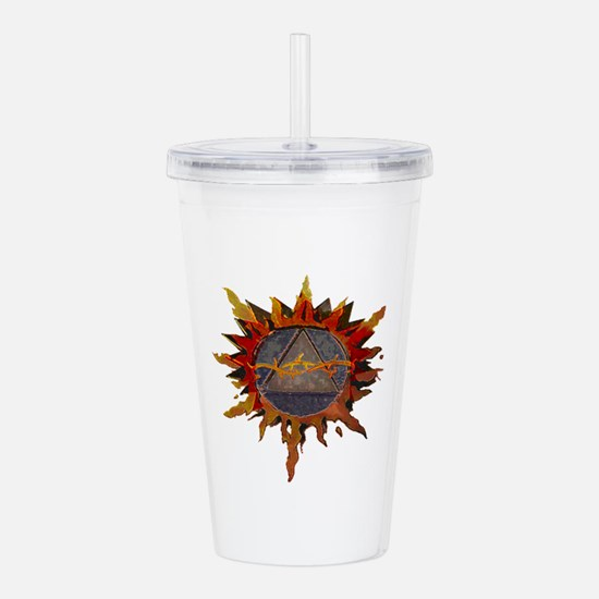 Sacred Symbol Recovery Acrylic Double-wall Tumbler