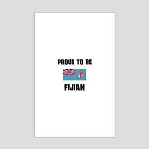 Proud To Be FIJIAN Mini Poster Print