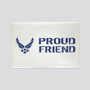 USAF: Proud Friend Rectangle Magnet
