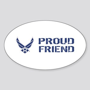 USAF: Proud Friend Sticker (Oval)