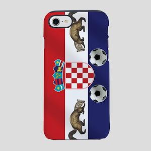 Croatian Football Flag iPhone 7 Tough Case