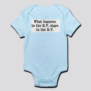 What happens in the R.V. stays in the R.V. Infant