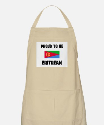 Proud To Be ERITREAN BBQ Apron