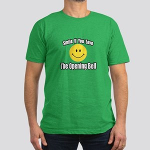 """Smile...Opening Bell"" Men's Fitted T-Shirt (dark)"