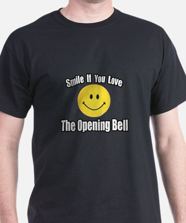 """Smile...Opening Bell"" T-Shirt"