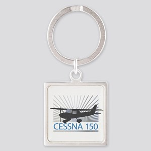 Aircraft Cessna 150 Square Keychain