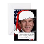 Bush Resigns Christmas Cards (Pk of 10)