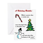 Holiday Riddle Greeting Cards (Pk of 10)