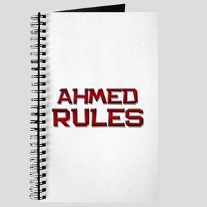 ahmed rules Journal